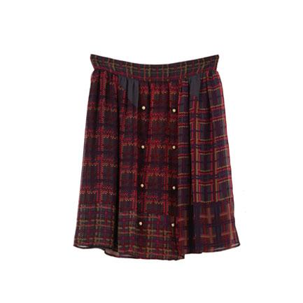 Zimmermann Check Skirt
