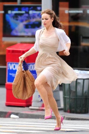 Rachel McAdams Carrting the Givenchy Bag in Morning Glory