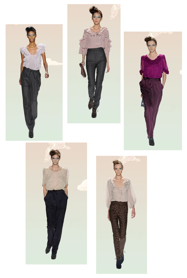 Rebecca Taylor pieces from Fall 09 Collection