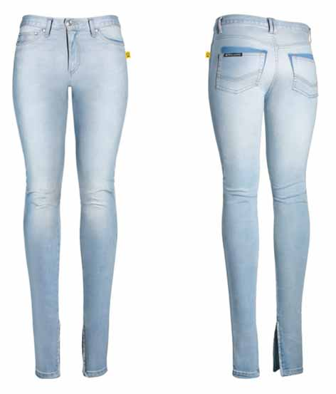 Brandy Skinny Leg Jean with Ankle Zip
