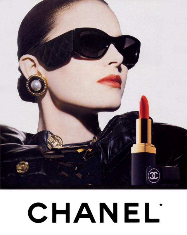 Patricia Van Ryckeghem; she's one of my favourite faces of Chanel