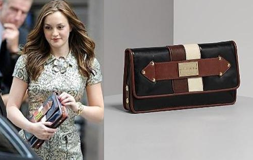 LAMB - Darjeeling leather orissa clutch