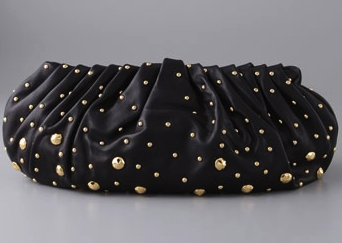 Diane von Furstenberg - Belle clutch with studs