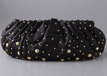 Diane von Furstenberg - Belle clutch with studs