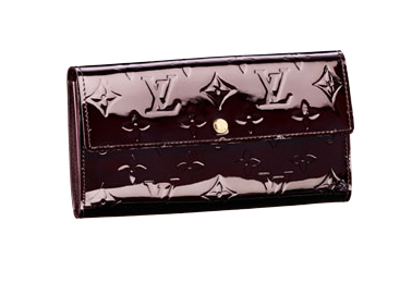 Sarah Wallet in rosewood